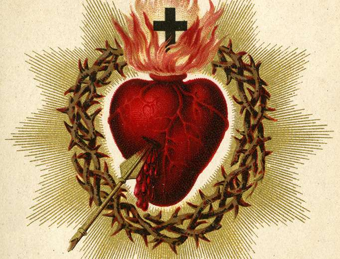 No matter how big your problem, you can find comfort in the Sacred Heart of Jesus
