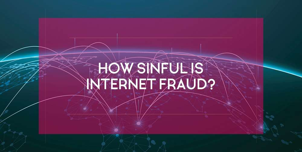 How sinful is internet fraud? 'Everyone' seems to be doing it.