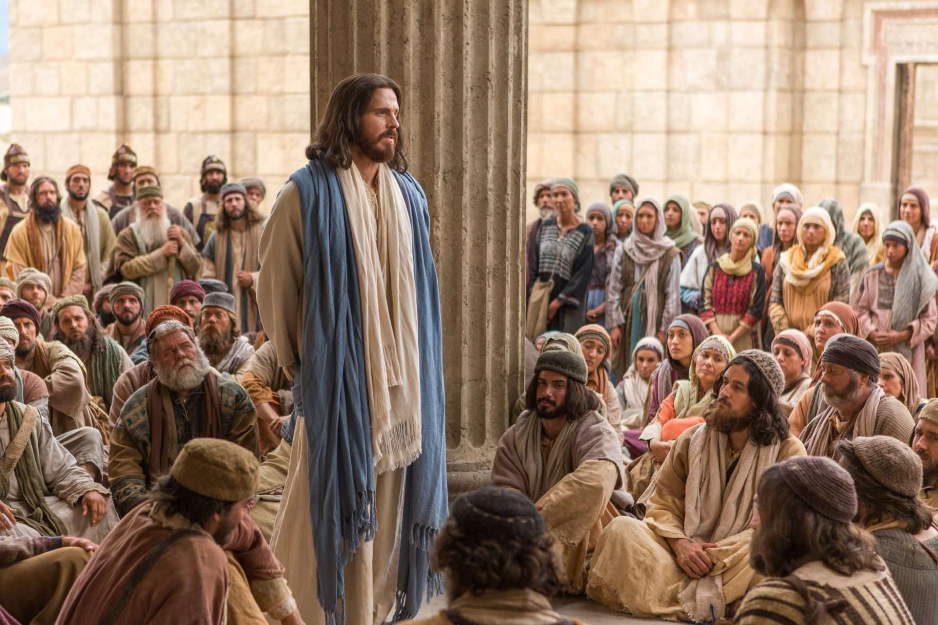 What did Jesus mean in saying that the Father was greater than he?