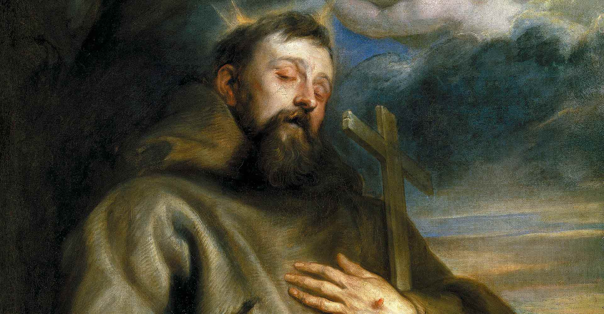 Today, you can get this St. Francis-themed indulgence