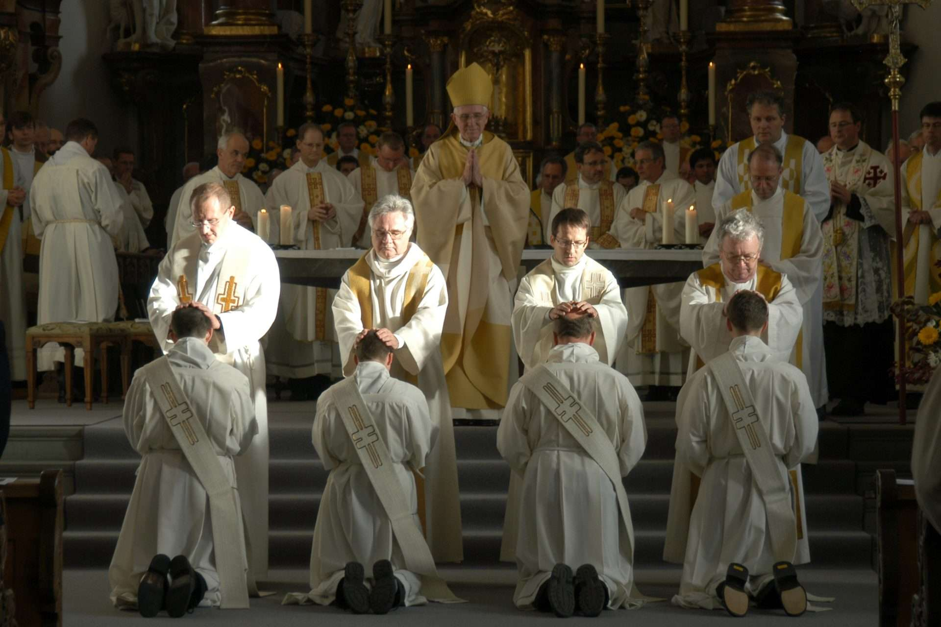 Why are only men allowed to be priests?