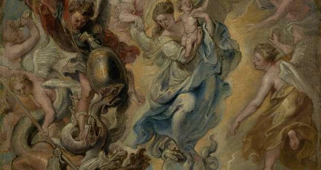 Does Mary Crush Satan's Head?