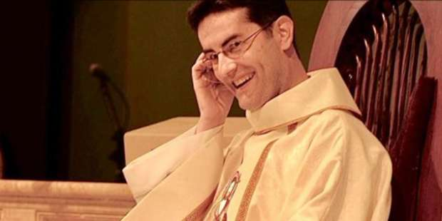 """A priest called the """"wrong"""" number … and God made great things happen."""