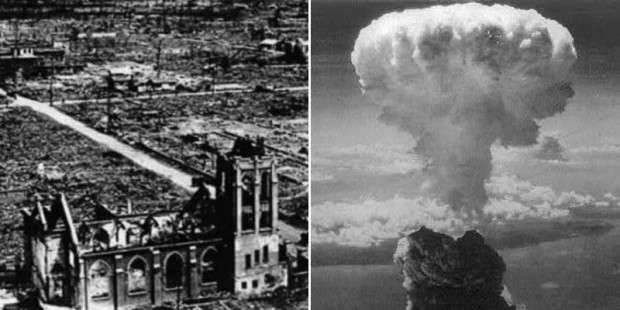 The two churches that survived the atomic bombs in Hiroshima and Nagasaki