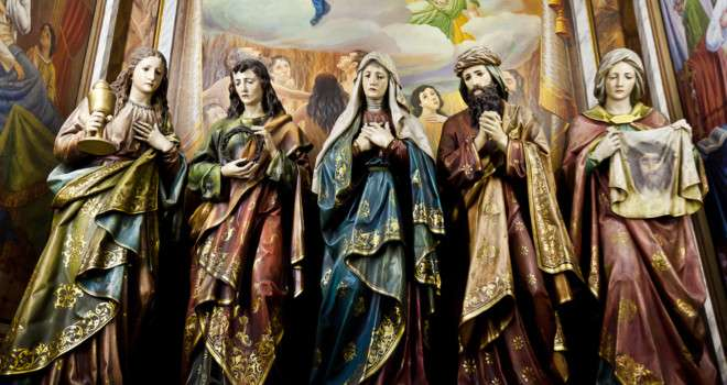 Do Catholics Worship Saints and Statues?