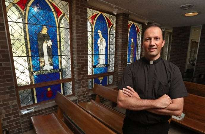 South Dakota priest is also a father of two
