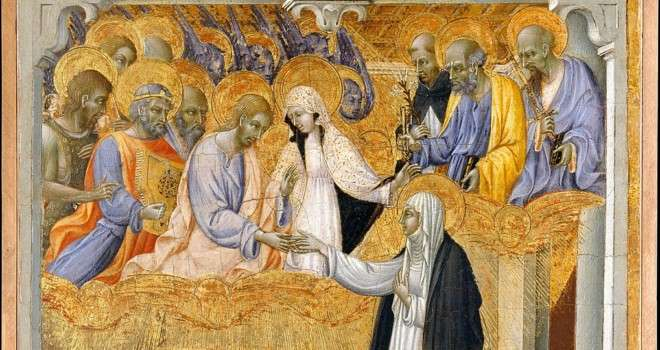 The Ecstatic Visions of St. Catherine of Siena