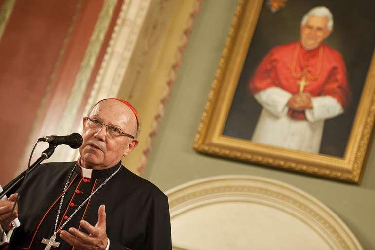 Cardinal Levada, former CDF prefect, dies aged 83