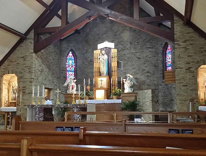 Miracles Still Reported at the Site of the First Marian Apparition in the U.S.