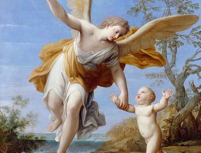 Your Guardian Angel Prays For You Continuously