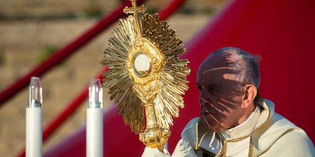 Don't receive Communion out of routine, but with conviction, says pope