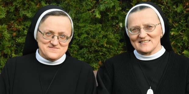 Separated at birth, twin sisters end up in the same convent!