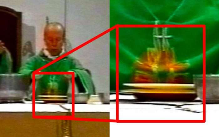 Did a Eucharistic Host Really Levitate on Live TV in 1999? Here's the Truth About the Viral Video