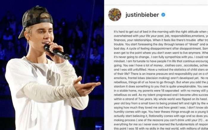 "Justin Bieber Reveals God's Blessings Got Him Through Drug Addiction: ""Keep Fighting. Jesus Loves You."""