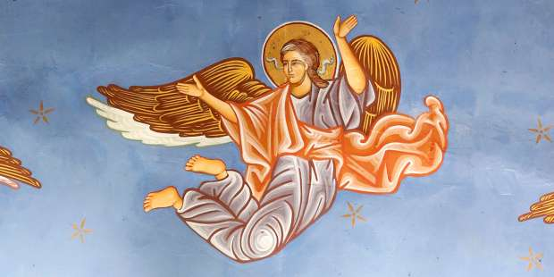 How fast can angels move?