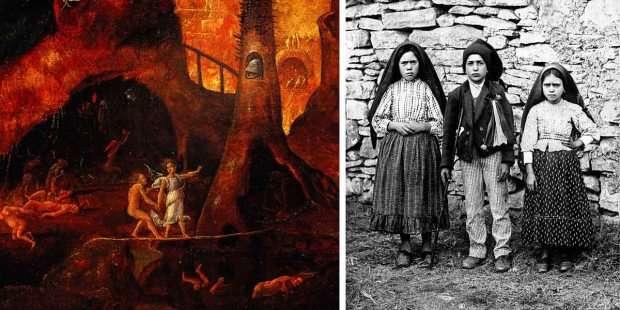 Fatima visionaries' terrifying vision of Hell