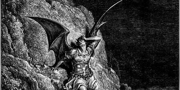 How do angels battle demons?