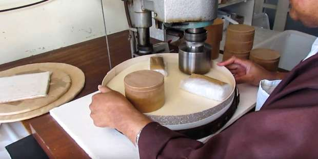 How are Eucharistic bread and wine made?