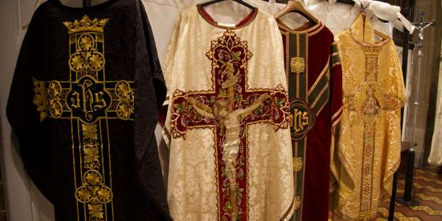 Why do priests wear a chasuble at Mass? And what's a chasuble?