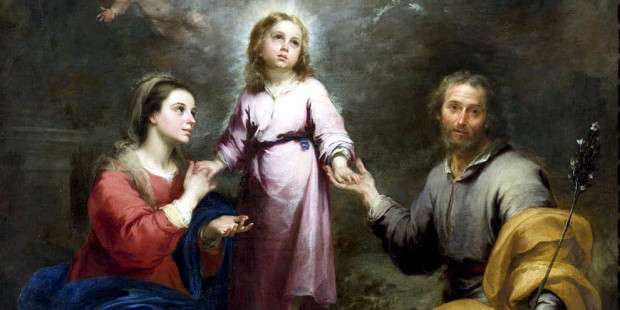3 Families where both parents and children became saints