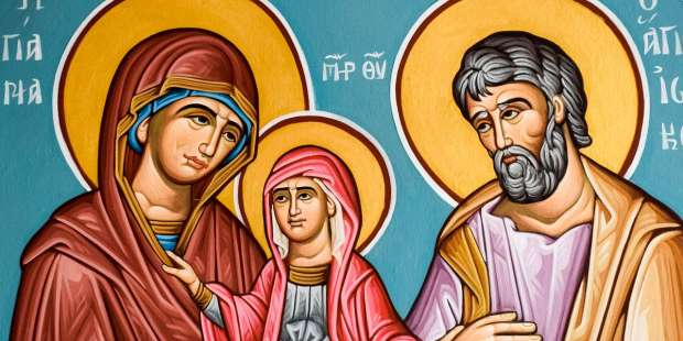 This is the story of the Virgin Mary's miraculous birth