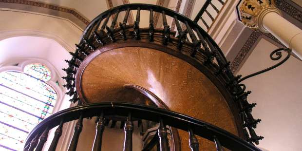 The staircase St. Joseph built in New Mexico