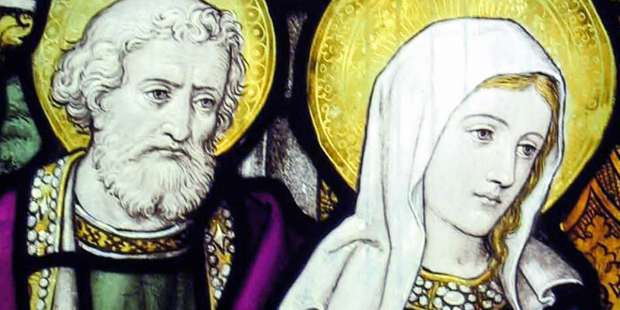 How did Joseph and Mary meet before getting married?