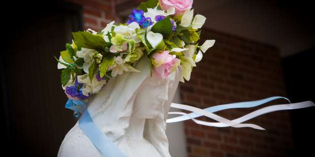 Not a queen's coronation, but a mom's: One of the Church's most special traditions
