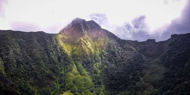 The real miracle behind the woman who rescued her husband from a volcano