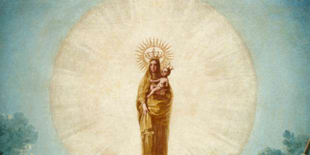 This is the first known apparition of Our Lady after the Assumption