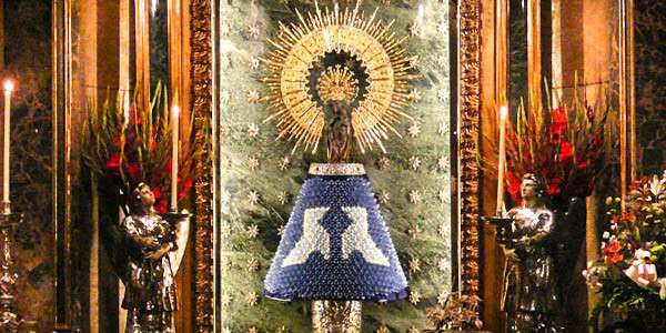Did you know the 1st apparition of the Blessed Mother was an act of bilocation?
