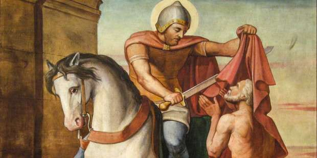How St. Martin the soldier defeated the many temptations of Satan