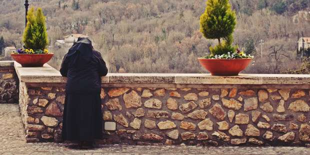 This hermit-nun hasn't spoken for 16 years. But here's what she tells us