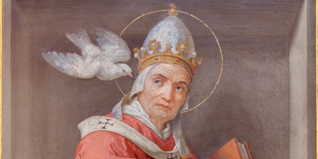 When St. Gregory was elected pope, his first thought was to run away