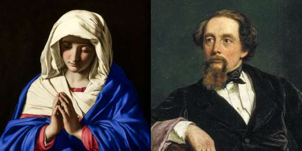 Did Charles Dickens have a vision of the Blessed Virgin Mary?