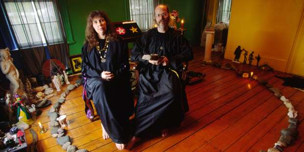 The demonic presence behind real-life wizards, witches and warlocks
