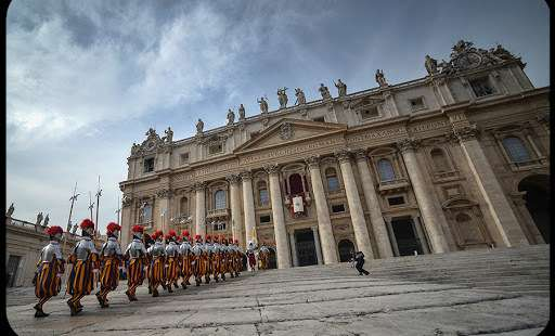 Can the Swiss Guard Protect Rome?