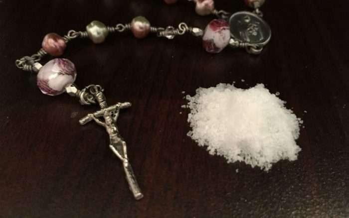 The Forgotten Spiritual Power of Blessed Salt