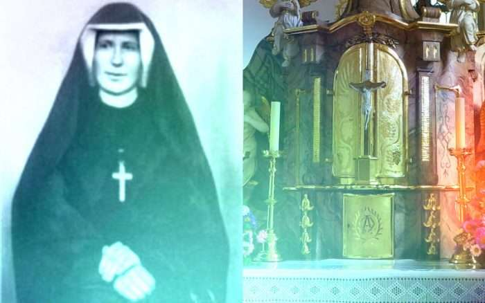 The Mysterious Story of St. Faustina vs. the Flying Eucharist