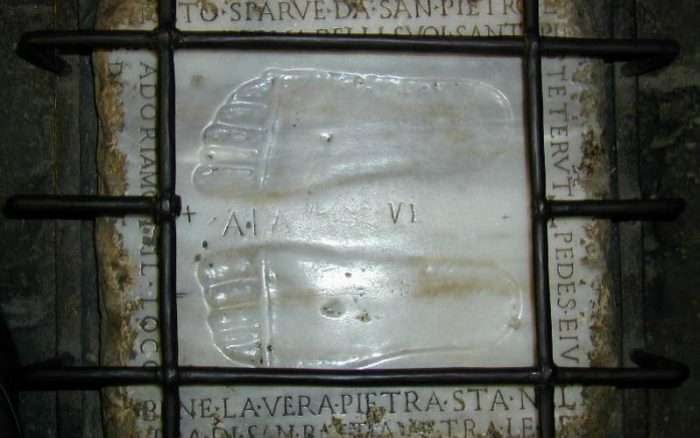 Are These the Footprints of Jesus? A Little-Known First Class Relic