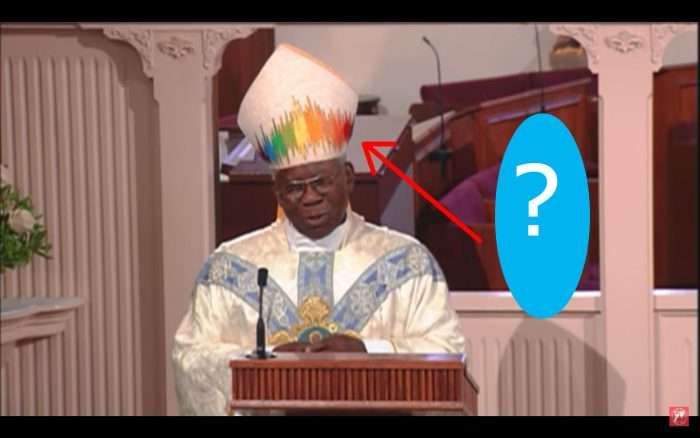 Why Did Cardinal Arinze Wear a Rainbow Mitre for Mass on EWTN? Here's the Truth