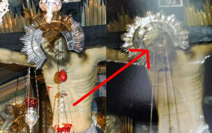 """Claims of """"Eye"""" Miracle at Church of the Holy Sepulchre Circulate on Facebook"""
