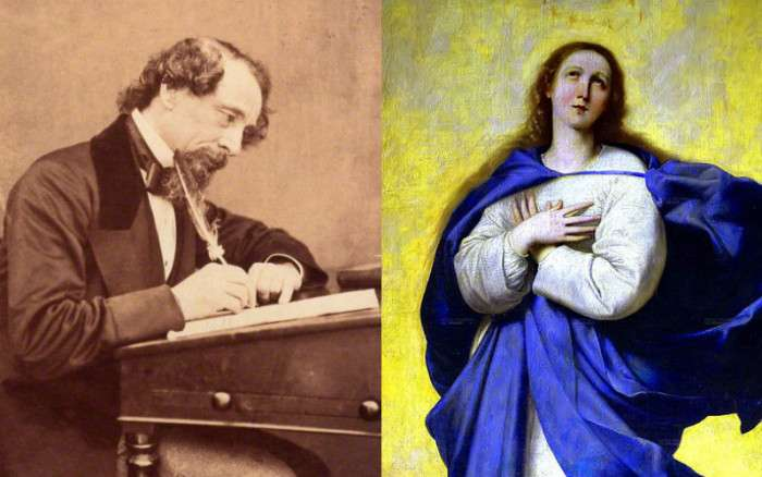 The Night Charles Dickens Was Haunted By the Spirit of… the Virgin Mary?