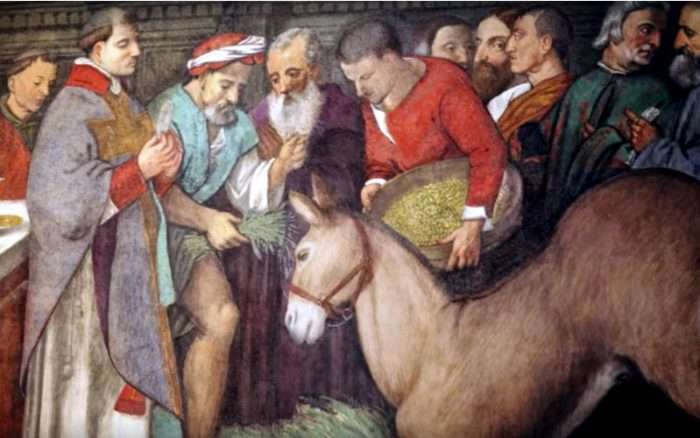 When a Mule Adored the Eucharist: How St. Anthony of Padua Proved Christ's Real Presence to a Heretic