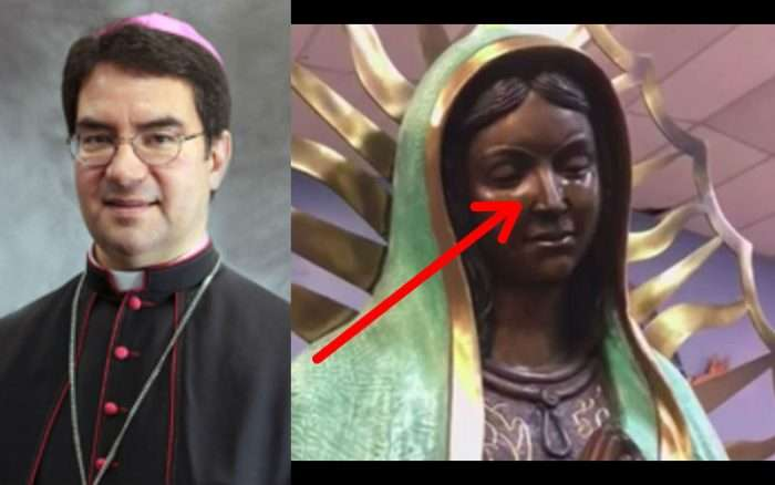 """""""We Have Not Discerned Natural Causes"""": Bishop Issues Incredible Report on Crying Statue Miracle"""