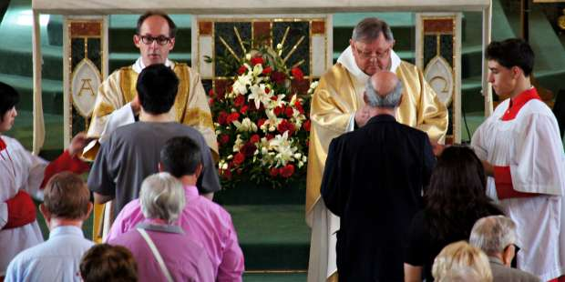 How often should I receive the Eucharist?