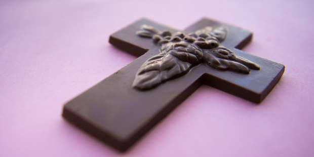 Do Chocolate Crosses Cross a Line Into Irreverence?