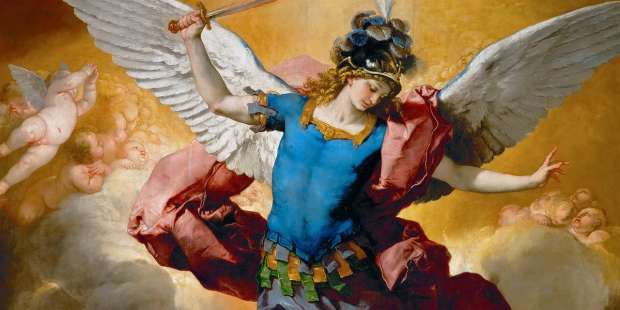 The spiritual meaning of St. Michael's name reminds us how we should live our lives