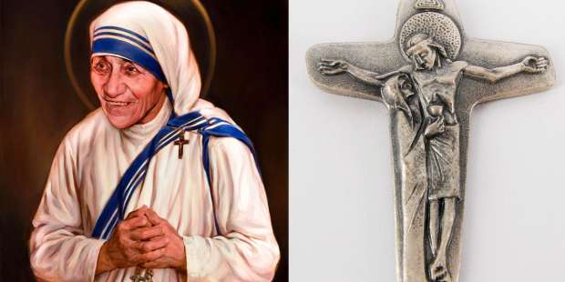 The cross Mother Teresa loved and carried with her