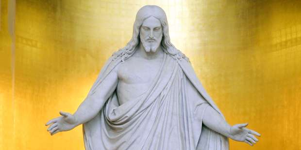 """""""The most perfect statue of Christ in the world"""""""